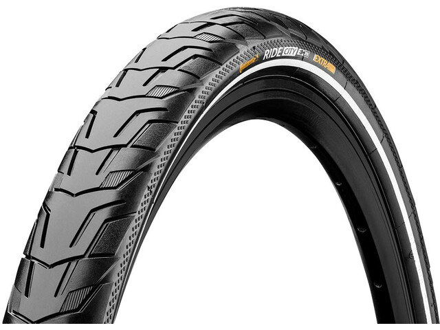 "Continental Ride City E-25 Wired-on Tire 28"" Reflex, black"